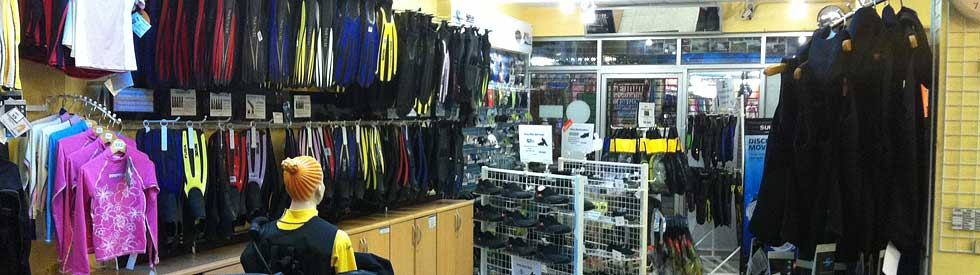 Koh Tao dive supply